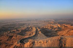 Jebel Hafeet Mountain, Al Ain, Abu Dhabi by Harith Samarawickrama