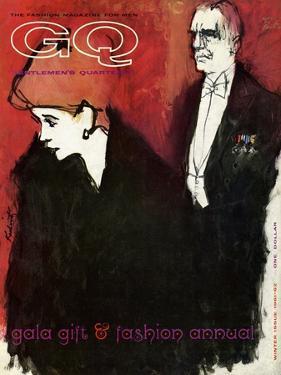 GQ Cover - December 1961 by Harlan Krakovitz