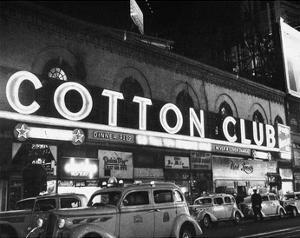 Harlem: Cotton Club, 1930s