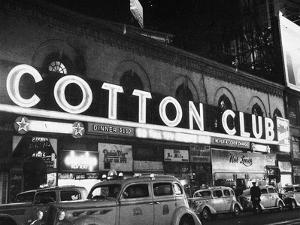 Harlem: Cotton Club, 1930s