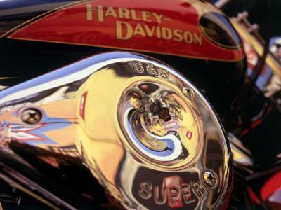 Harley Davidson Heritage Softail Made 1991 from a 1936 Style