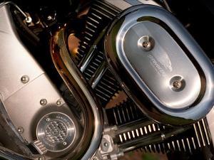 Harley Davidson Motorbike, June 1998
