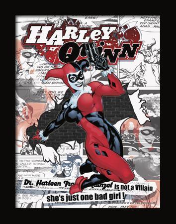 Harley Quinn 3D Framed Art