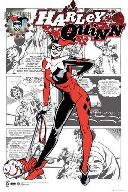 Harley Quinn- Comic Panels