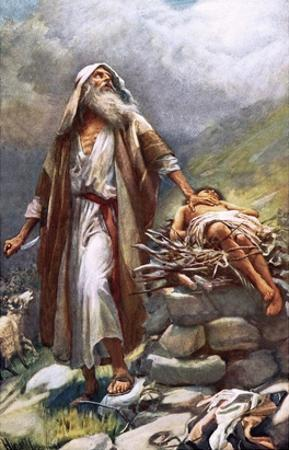 Abraham and Isaac by Harold Copping