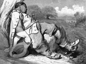 Basque legends- Roldan's Bugle Horn by Harold Copping