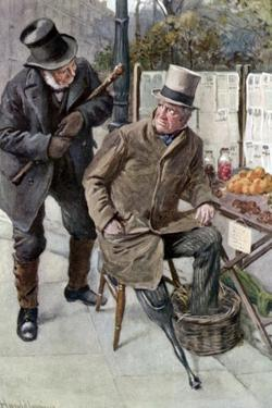 Charles Dickens 's 'Our Mutual Friend' by Harold Copping