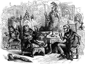 Charles Dickens 's 'The Old Curiosity Shop by Harold Copping