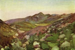 Jericho in the Holy Land c1910 by Harold Copping