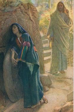 Mary Magdalene, Illustration from 'Women of the Bible', Published by the Religious Tract Society,… by Harold Copping