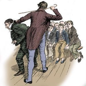 'Nicholas Nickleby' by Charles Dickens by Harold Copping
