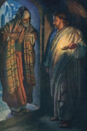 Nicodemus by Harold Copping