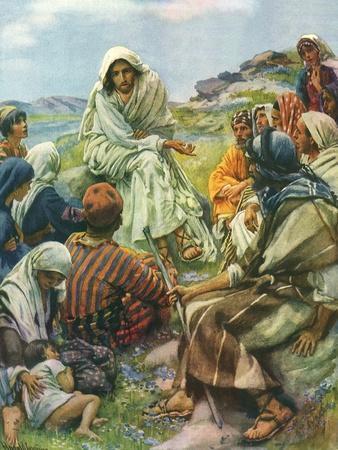Sermon on the Mount, 1922