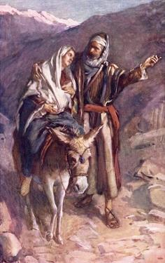 The Flight into Egypt by Harold Copping