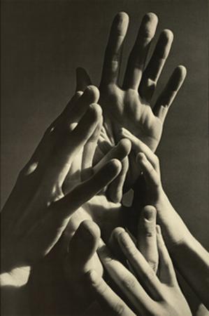 Aspiring Hands by Harold Feinstein