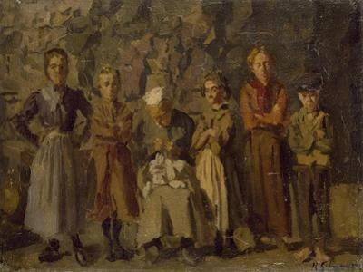 Cave Dwellers, Dieppe, 1907