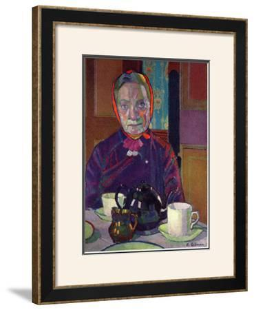 Portrait of Mrs. Mounter