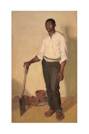Portrait of Negro Gardener, c.1905