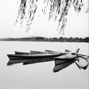 Mirrored Water by Harold Silverman
