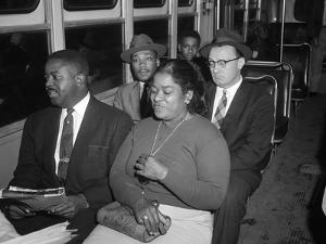 MLK Abernathy Ride Bus 1956 by Harold Valentine