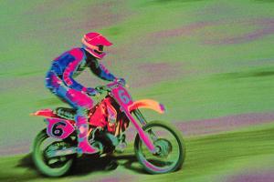 Motocross Rider by Harold Wilion