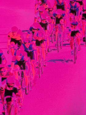 People Riding Bicycles by Harold Wilion