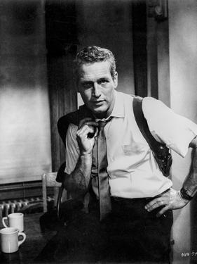 Paul Newman Holding Coat in Classic by Harper
