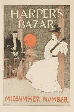 Harper's Bazar Midsummer Number Poster