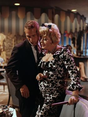 HARPER / THE MOVING TARGET, 1966 directed by JACK SMIGHT Shelley Winters / Paul Newman (photo)