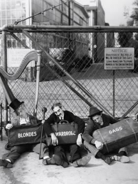 Harpo Marx, the Marx Brothers, Chico Marx, Groucho Marx