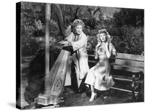 Harpo Marx, Vera-Ellen, Love Happy, 1949