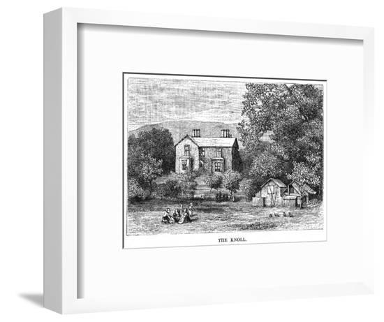 Harriet Martineau's Home--Framed Giclee Print