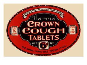 Harris' Crown Cough Tablets