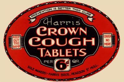 Harris' Crown Cough Tablets