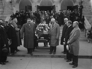 Labour leaders at the funeral of 'Mother' Jones in Washington, 1930 by Harris & Ewing