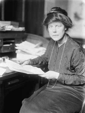 Lucy Burns, 1913 by Harris & Ewing