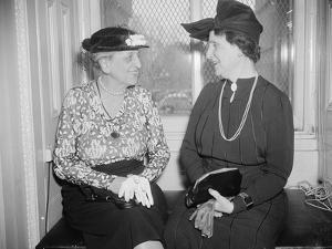 Marion Glass Banister and Nellie Tayloe Ross, 1938 by Harris & Ewing