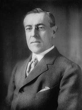 Woodrow Wilson, 1913-20 by Harris & Ewing