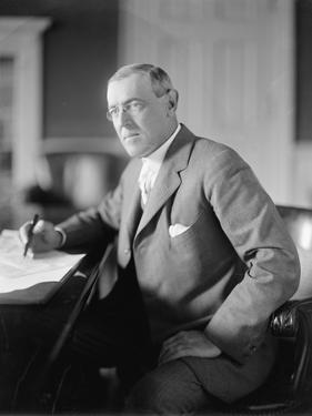 Woodrow Wilson, c.1913 by Harris & Ewing