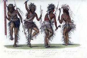 The War Dance, by the Ojibbeway Indians, 1848 by Harris