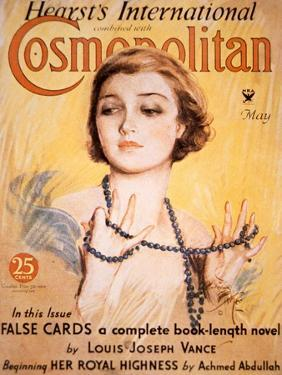 Front Cover of Cosmopolitan Magazine, May 1934 by Harrison Fisher