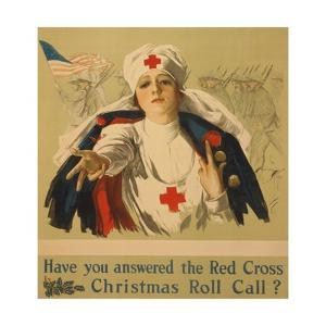 Have You Answered the Red Cross Christmas Roll Call? by Harrison Fisher