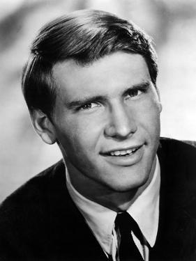 HARRISON FORD Portrait early 70's (b/w photo)
