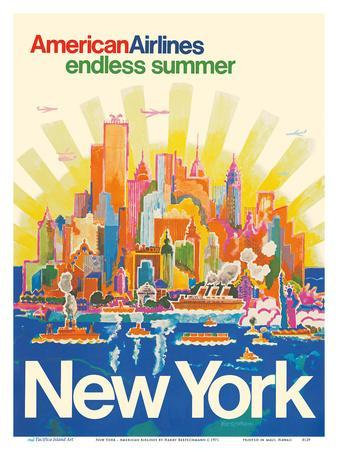 Free Shipping Included Retro Ads New York State Vintage Ads Vintage Travel Gift Ideas 1972 NY TRAVEL ADVERTISEMENT