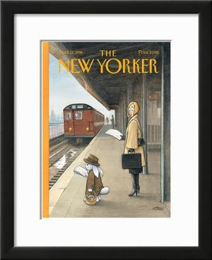 The New Yorker Cover - April 13, 1998 by Harry Bliss