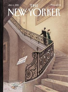 The New Yorker Cover - January 5, 1998 by Harry Bliss