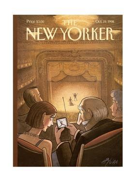 The New Yorker Cover - October 19, 1998 by Harry Bliss