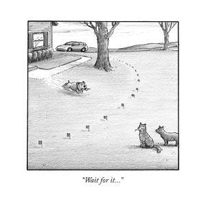 """""""Wait for it..."""" - Cartoon by Harry Bliss"""