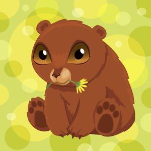 Anime Bear Cub by Harry Briggs