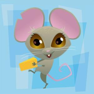 Anime Mouse by Harry Briggs